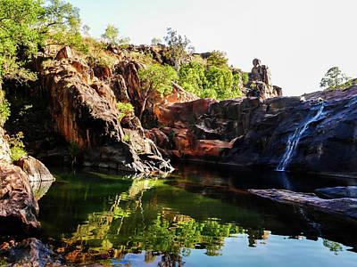 Rock Pool - Gunlom, Kakadu National Park Art Print