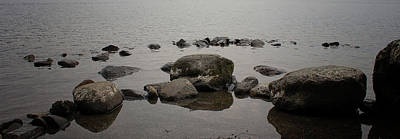 Element Photograph - Rock Pool by Martin Newman