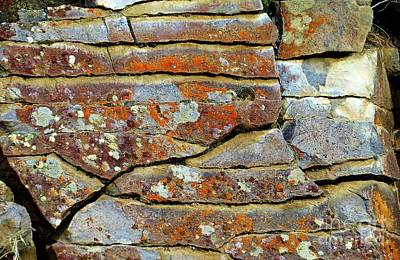 Photograph - Rock Puzzle by Michele Penner