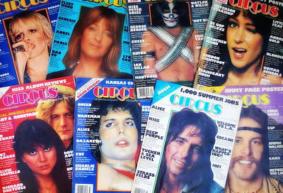 Peter Criss Photograph - Rock Rags 3 by Kevin Bohner