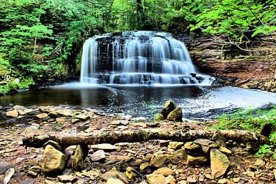 Photograph - Rock River Falls by Matthew Winn