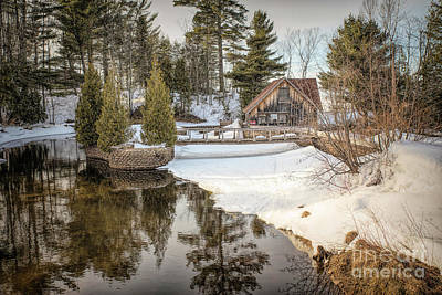Nikki Vig Royalty-Free and Rights-Managed Images - Rock River Mill in Onota Township Alger County, Michigan by Nikki Vig