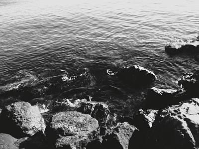 Photograph - Rock Shore by Eddie G