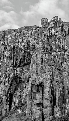 Photograph - Rock Side Bw #g8 by Leif Sohlman
