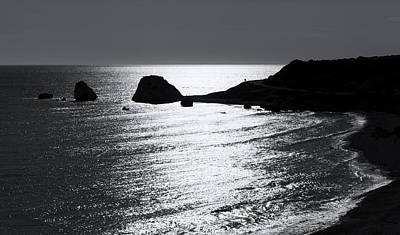 Rock Silhouette Art Print
