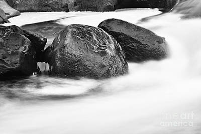 Art Print featuring the photograph Rock Solid by Larry Ricker
