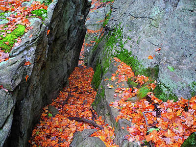 Photograph - Rock Squeeze by Raymond Salani III