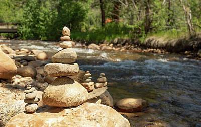 Photograph - Rock Stack by Sean Allen