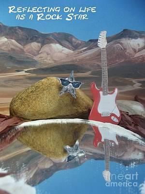 Photograph - Rock Star by Caroline Peacock