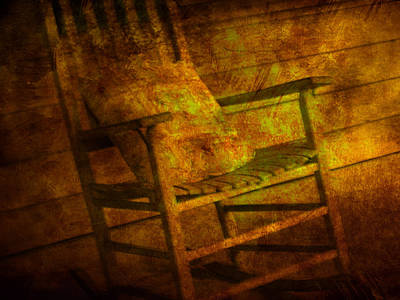 Rocking Chairs Photograph - Rock Without The Roll by Susanne Van Hulst