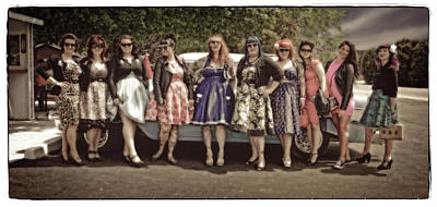 Photograph - Rockabilly by Jerry Golab