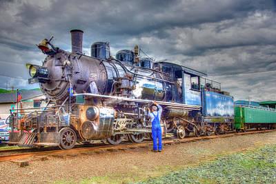 Photograph - Rockaway Steam 2 by Richard J Cassato