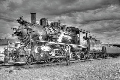 Photograph - Rockaway Steam 3 by Richard J Cassato