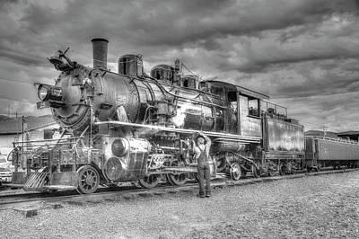 Photograph - Rockaway Steam 3 by Richard J Cassato