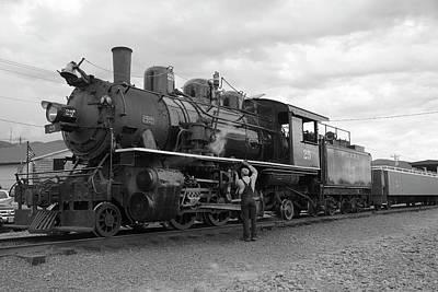 Photograph - Rockaway Steam by Richard J Cassato