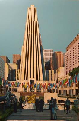 Rockefeller Center Art Print by George Lucas