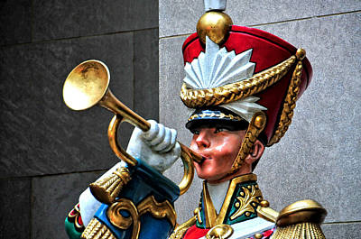 Photograph - Rockefeller Center Toy Soldier by Mike Martin