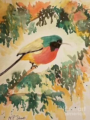 Painting - Rockefeller's Sunbird by Maria Urso