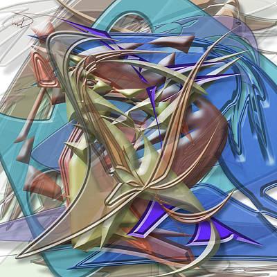 Christina Digital Art - Rocker Board by Warren Lynn