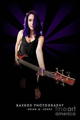Photograph - Rocker Girl by Brian Jones