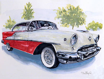 Painting - Rocket 88 by William Reed