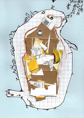 Rocket Dog Art Print by Alessandro  Rech