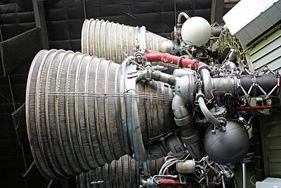 Photograph - Rocket Engines by Kristin Elmquist