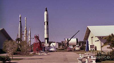 35mm Photograph - Rocket Garden by Richard Rizzo