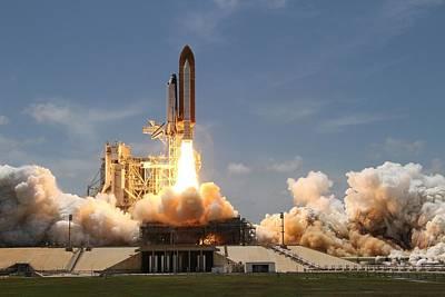Rocket Photograph - Rocket Launch by Artistic Panda