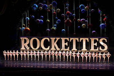Amy Hamilton Animal Collage - Rockettes At Nyc Music Hall by Carl Purcell