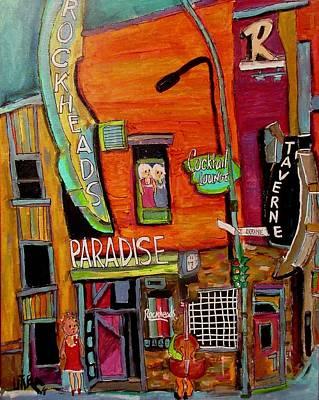Painting - Rockhead's Paradise Little Bergundy 1928-1980 by Michael Litvack