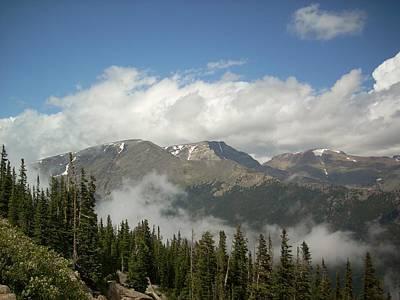Photograph - Rockies 1 by Sara Stevenson