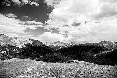 Photograph - Rockies - 2 by David Bearden