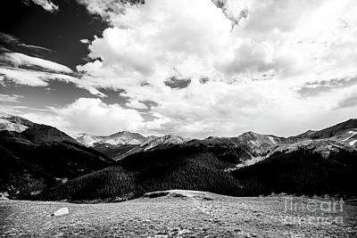 Photograph - Rockies - 3 by David Bearden