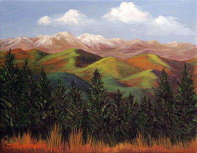 Painting - Rockies by Janet Greer Sammons