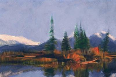 Painting - Rockies Landscape by Jim Vance