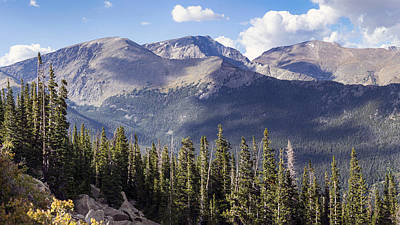 Photograph - Rockies National Park Vista No.1 by Lynn Palmer