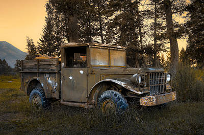 Photograph - Rockies Transport by Wayne Sherriff