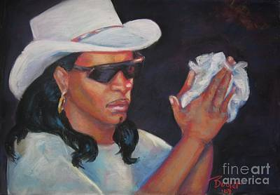 Painting - Zydeco Man by Beverly Boulet