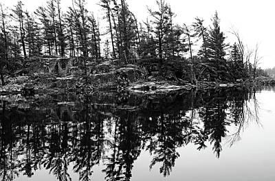 Photograph - Rockin Pine Reflections by Debbie Oppermann
