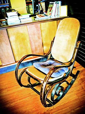 Photograph - Rocking Chair by Tatiana Travelways