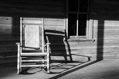 Photograph - Rocking Chair Work A by David Lee Thompson