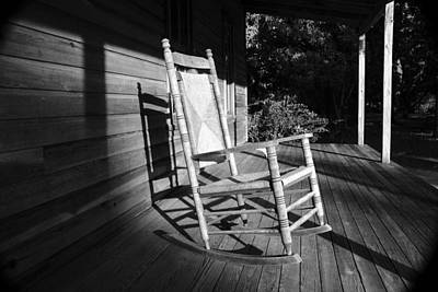 Photograph - Rocking Chair Work C by David Lee Thompson