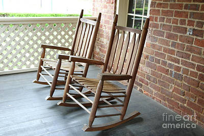 Photograph - Rocking Chairs by Carol Groenen