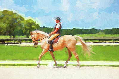 Photograph - Rocking Horse Stables Ocala Florida by Rich Franco