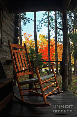 Photograph - Rocking In Fall by Randy Rogers