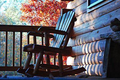 Rocking Chairs Photograph - Rocking by Robert Meanor