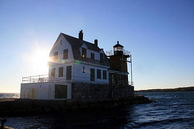 Photograph - Rockland Breakwater Lighthouse 1 by George Jones