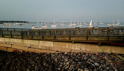 Photograph - Rockland Harbor by Marilyn Burton
