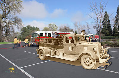 Photograph - Rocklin Fire Department by Jim Thompson